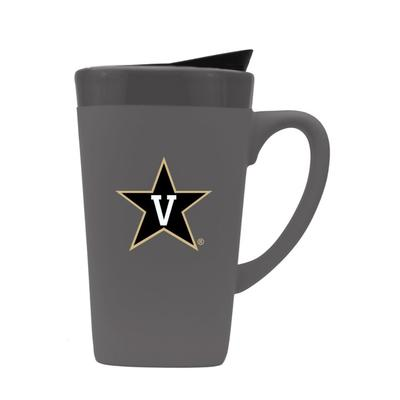 Vanderbilt 16oz Soft Touch Mug with Lid