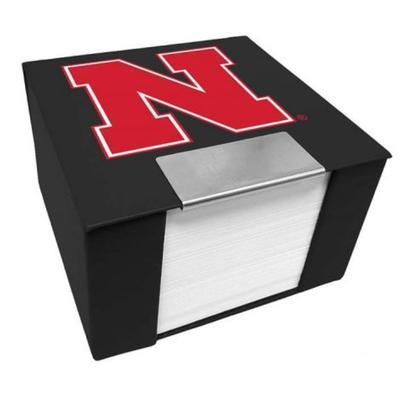 Nebraska Memo Cube Holder