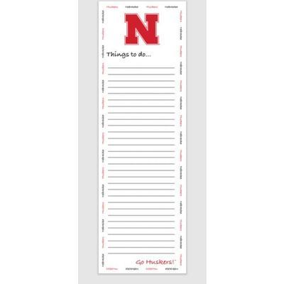 Nebraska To-do Pad