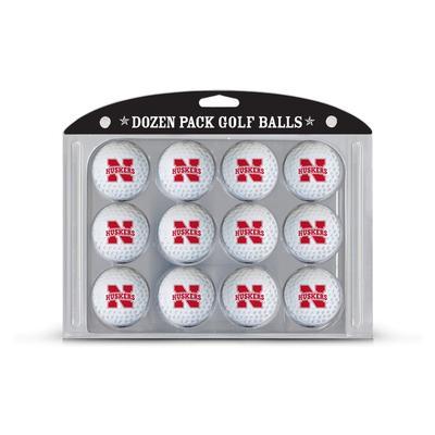 Nebraska 12 Pack Golf Balls