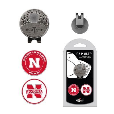 Nebraska Golf Cap Clip