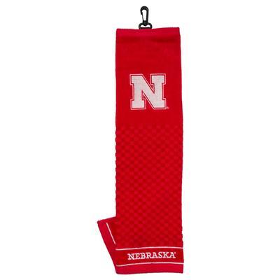 Nebraska Embroidered Towel
