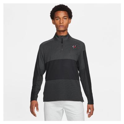 Georgia Nike Golf Men's Standing Bulldog Vapor Half Zip Pullover