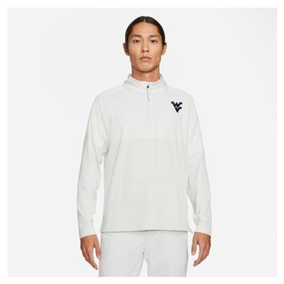 West Virginia Nike Golf Men's Vapor Half Zip Pullover
