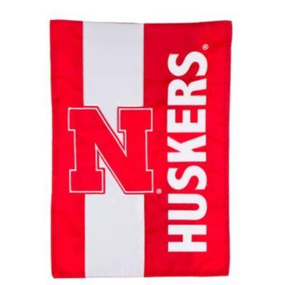 Nebraska Embellish Garden Flag