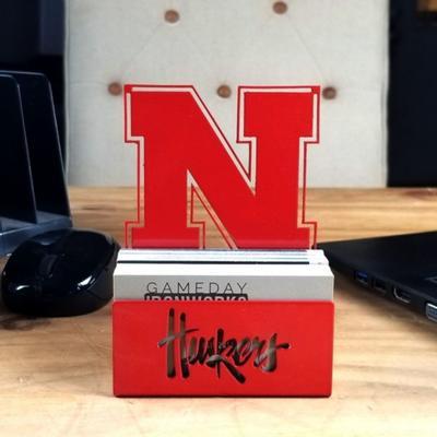 Nebraska Business Card Holder