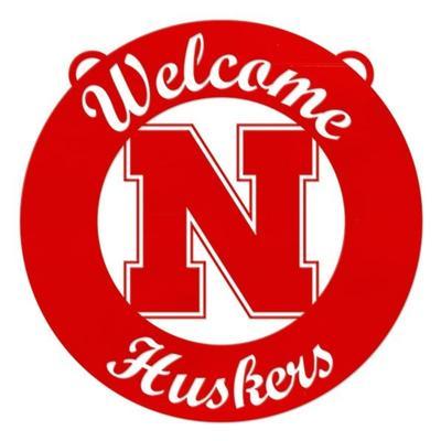 Nebraska 24 inch Welcome Circle Sign