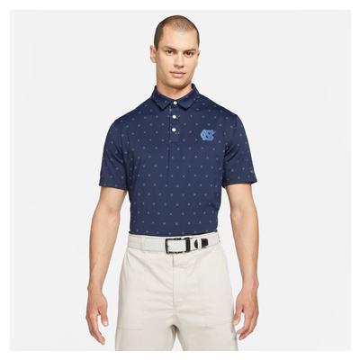 UNC Nike Golf Men's Player X Clubs Polo