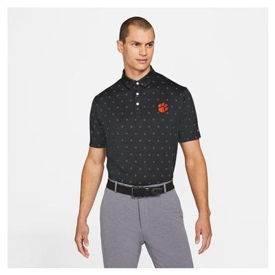 Clemson Nike Golf Men's Player X Clubs Polo