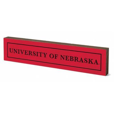 Nebraska 12 inch Table Top Stick