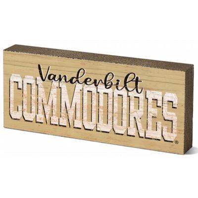 Vanderbilt 2.5 X 6 inch Mini Table Stick