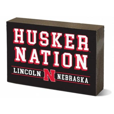 Nebraska 3.5 x 5 inch Rectangular Block