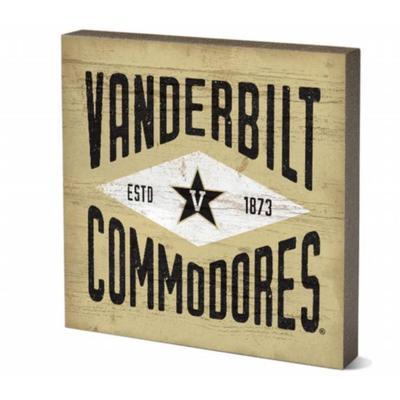Vanderbilt 5.5 x 5.5 inch Square Block