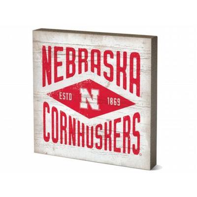 Nebraska 5.5 x 5.5 inch Square Block