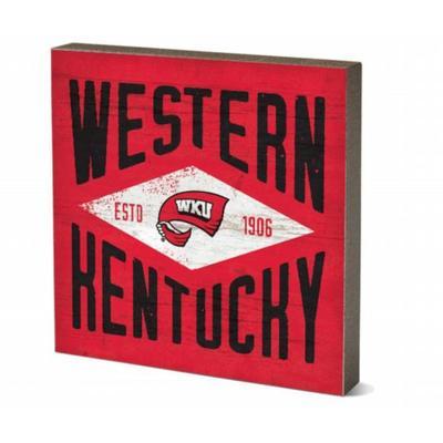 Western Kentucky Legacy 5.5 x 5.5 inch Square Block