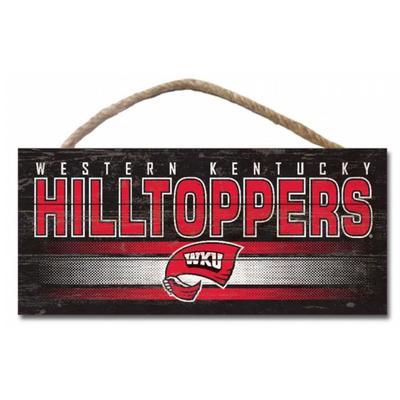 Western Kentucky 5 x 10 inch Hanging Sign