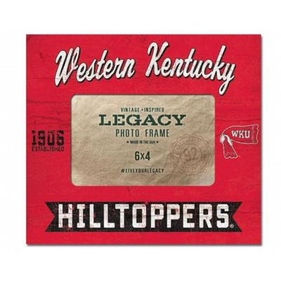 Western Kentucky 8 x 9 Midnight Flyer Center Picture Frame