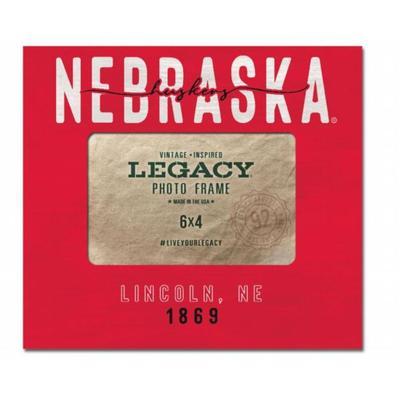 Nebraska 8 x 9 Babe Center Picture Frame