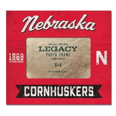 Nebraska 8 x 9 Midnight Flyer Center Picture Frame