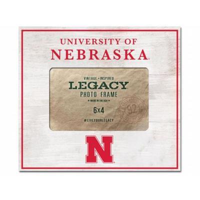 Nebraska 8 x 10 Ivy League Center Picture Frame