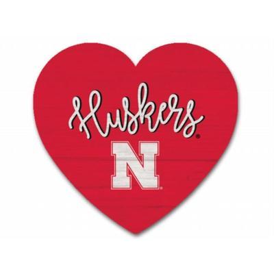 Nebraska Heart Magnet