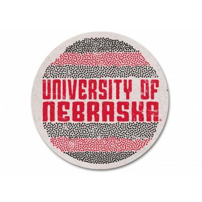 Nebraska Epicenter Circle Coaster
