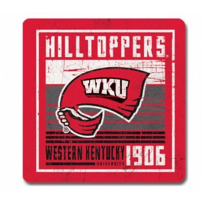 Western Kentucky Legacy Scratch Coaster