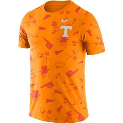 Tennessee Nike Tailgate Short Sleeve Tee