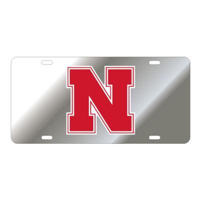 Nebraska N Logo License Plate