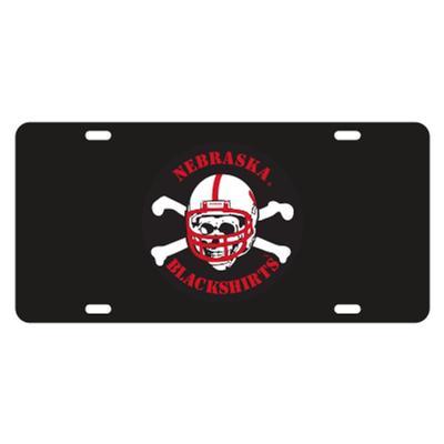 Nebraska Blackshirt Logo License Plate