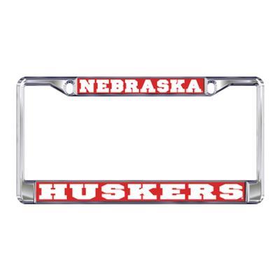 Nebraska Huskers License Plate Frame