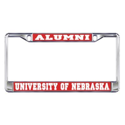 Nebraska Alumni License Plate Frame