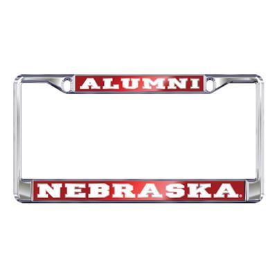 Nebraska Domed Alumni License Plate Frame