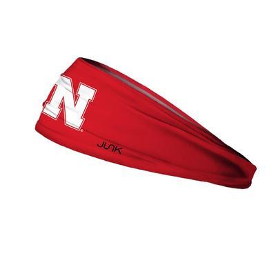 Nebraska Lite Primary N Logo Headband