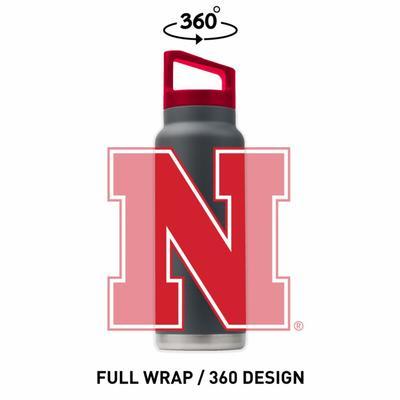 Nebraska 40 oz Bottle