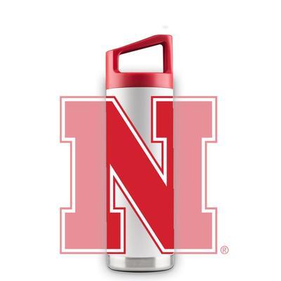 Nebraska 16 oz N Logo Bottle