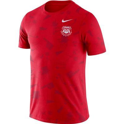 Georgia Nike Tailgate Short Sleeve Tee