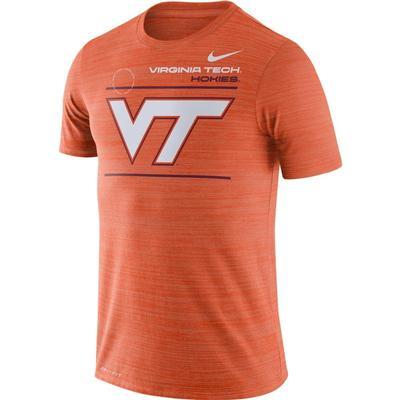 Virginia Tech Nike Velocity Sideline Short Sleeve Tee