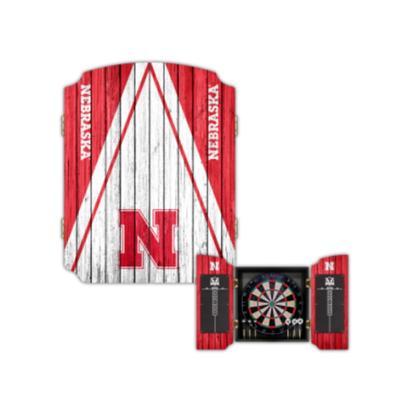Nebraska Victory Tailgate Dartboard Game
