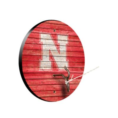 Nebraska Victory Tailgate Hook and Ring Game