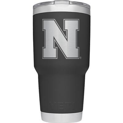 Nebraska Yeti 30 oz N Logo Rambler