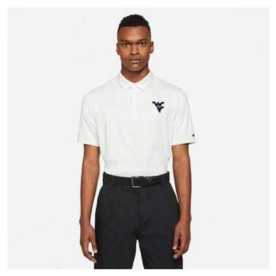 West Virginia Nike Golf Men's Player Control Stripe Polo