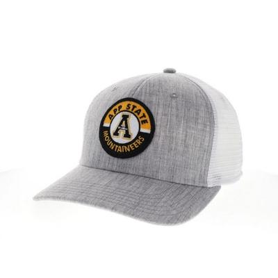Appalachian State Legacy Road Patch Trucker Hat
