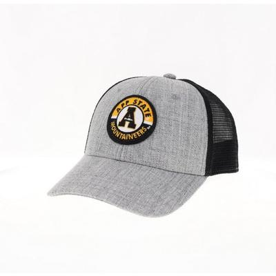 Appalachian State Legacy YOUTH Road Patch Trucker Hat