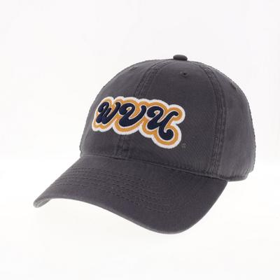 West Virginia Legacy YOUTH Groovy Font Hat