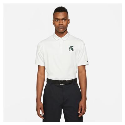 Michigan State Nike Golf Men's Player Control Stripe Polo