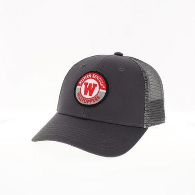 Western Kentucky Legacy YOUTH Road Patch Trucker Hat