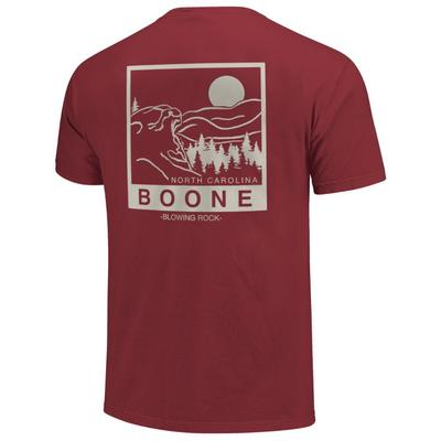 Image One Boone Blowing Rock Short Sleeve Comfort Colors Tee