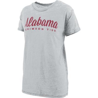 Alabama Pressbox Aleena Vintage Wash Short Sleeve Tee