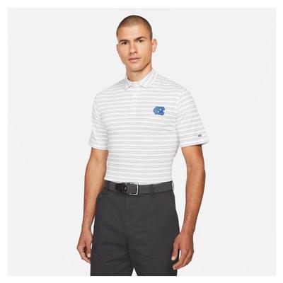 UNC Nike Golf Men's Player Stripe Polo